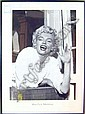 PRINTS, set of three, of Marilyn Monroe. (3)