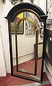 PIER MIRROR, arched moulded top above gilt
