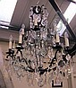 CHANDELIER, 18th/19th century manner, scrolling