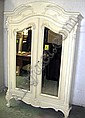 ARMOIRE, French style, of compact proportions,
