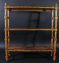 Maple Shelves, Wall or Table Top, c.1850
