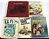 Toys, (5) Collector's Books, Assorted