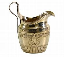 Cream pitcher, Alexander Field, London, 1794