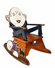 Rocking chair, Humpty Dumpty, C. 1950