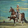 O/C Hacenado on Walking Horse,1925, B. R. Carrea, Benito Rebolledo Correa, $250