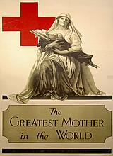WWI Poster, The Greatest Mother in the World