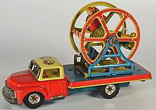 Toy, Ferris Wheel on Pickup Truck, 1957