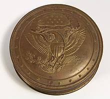 American Sealing Wax Box, C. 1870