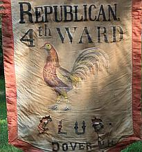 Republican Club Banner, Dover, NH