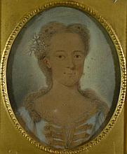 Pencil/pastel, original sealed, 18th century