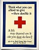 WWI Think What You Can Afford to Give, Red Cross