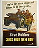WWII Save Rubber, Walter Richards, Small
