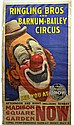 Circus Poster, Ringling Bros & Barnum & Bailey