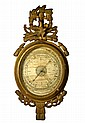 Barometer, by Selon Torricelli,18th C, American