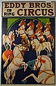 (2) Circus Posters, Eddy Bros. & Seil Sterling
