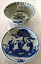 Chinese Ming bowl and small dish (2)