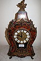 Antique Boulle clock in working order 47cms Ht