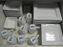 Three drawers inc white Modern Living dinner set