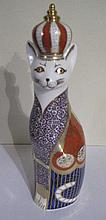 Royal Crown Derby Royal Cats Egyptian