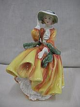 Royal Doulton figure Top O' the Hill New Colourway