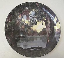 Royal Doulton Murray River Gums cabinet plate