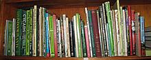 One shelf garden books Bonsai, Orchids etc