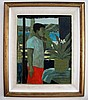 Ray Crooke Oil on canvas Island Boy signed