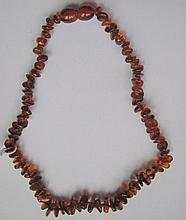 Child's amber necklace