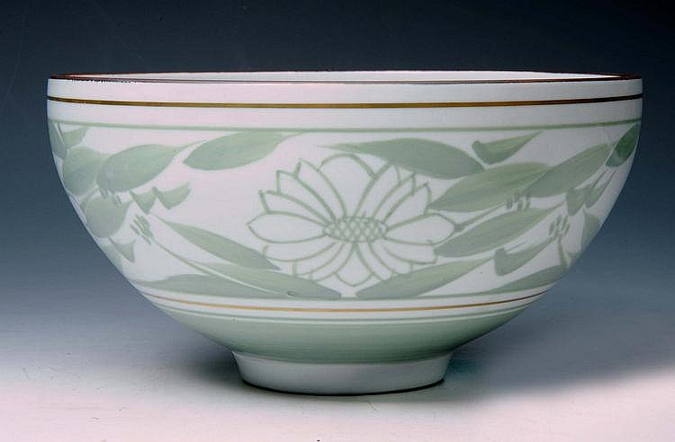 Derek Emms (British, 1929-2004) A bowl decorated