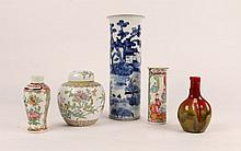 A 19TH CENTURY CHINESE BLUE AND WHITE PORCELAIN V