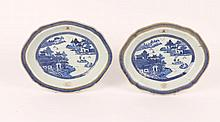 A PAIR OF LATE 18TH/EARLY 19TH CENTURY CHINESE BL