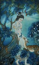 R. UKIL (20TH CENTURY INDIAN SCHOOL) 'Sakuntala a