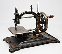 A 19TH CENTURY NATIONAL SEWING MACHINE COMPANY CAS