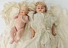 A KAMER & REINHART KAISER COMPOSITE BABY DOLL with