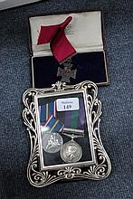 A NATIONAL SERVICE 1939-1960 CROWN AND COUNTRY MED