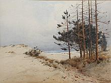 WILLIAM SAMUEL PARKYN (1875-1949) Sand Dunes and P