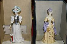 A ROYAL WORCESTER FIGURE 'MADELAINE' number 242 i