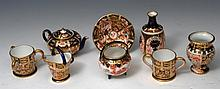 A SMALL COLLECTION OF ROYAL CROWN DERBY MINIATURE