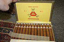 A BOX OF CUBAN CIGARS by Habanos