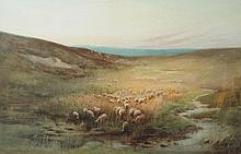 Dorothy Cox (British, 1882-1940) Sheep in the Moo