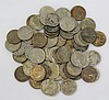(72) HEAVILY CIRCULATED BUFFALO NICKELS