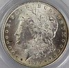 1884 MS 63 MORGAN SILVER DOLLAR PCGS