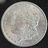 1882 CARSON CITY MORGAN SILVER DOLLAR UNCIRCULATED