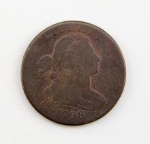 1798 US DRAPED BUST LARGE CENT