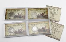 (4) SHIPWRECK EIGHT REAL COINS