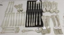 PARTIAL STERLING SILVER FLATWARE SET BY GORHAM
