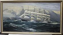 FRAMED OIL PAINTING ON BOARD BY WILLIAM BALDWIN,