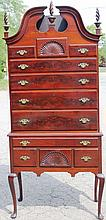 18TH C RESTORED QUEEN ANNE HIGHBOY, AMERICAN,