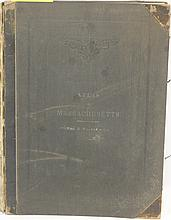 BOUND ATLAS OF MASSACHUSETTS PUBLISHED BY