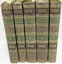 5 LEATHER BOUND BOOKS VOL 1-5